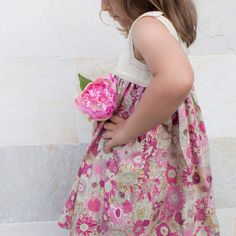 Lola y Lana Dress Skirt, Kids Fashion, Floral, Skirts, Clothes, Dresses, Graphics, Baby, Scrappy Quilts