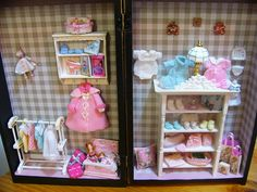 miniature nursery decor and baby clothing