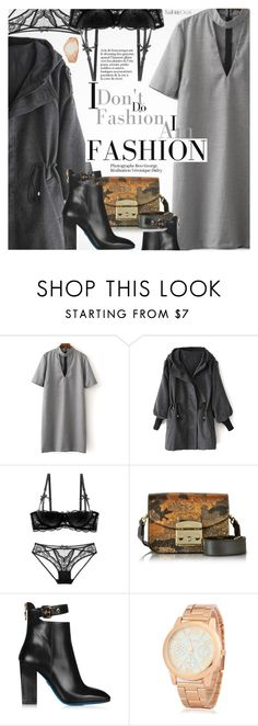 """""""Edgy Style"""" by pokadoll ❤ liked on Polyvore featuring Furla, Loriblu, polyvoreeditorial and polyvoreset"""