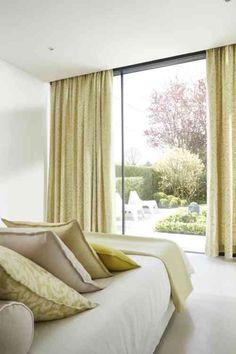 rideau occultant pour chambre à coucher moderne par Heytens