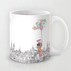 My way around the world Mug by Polly Lin My Way, Around The Worlds, Mugs, Tableware, Dinnerware, Cups, Dishes, Mug, Tumbler