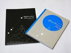 French Binding with UVprint/ ID designer/ RCA Information Design