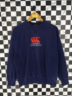 Excited to share the latest addition to my #etsy shop: Vintage 90's CANTERBURY Rugby Sweater Large Vintage Canterbury Of New Zealand All Blacks Rugby Blue Sweatshirt Jumper Size L #hoodie #clothing #pullover #cccsportssweater #newzealandrugby #canterburyrugby #allblackpoloshirt #ralphlaurenshirt #adidasrugbysweater