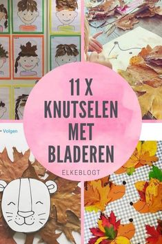 knutselen met bladeren voor kinderen #herfst Diy And Crafts, Crafts For Kids, Arts And Crafts, Fall Inspiration, Fall Diy, Diy Tutorial, Cool Kids, Baby Boy, Homemade