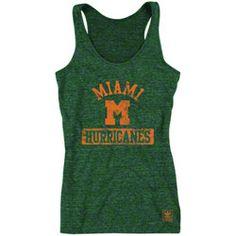 Miami Hurricanes Women's Green adidas Retro Mascot Heathered Tri-Blend Tank Top $21.99 http://www.shopmiamihurricanes.com/Miami-Hurricanes-Womens-Green-adidas-Retro-Mascot-Heathered-Tri-Blend-Tank-Top-_-2110252867_PD.html?social=pinterest_pfid42-44972