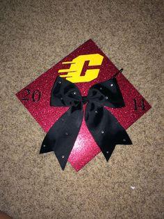 Graduation cap Central Michigan University!