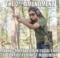 cool guns for womens This Is Your Life, Way Of Life, Gun Quotes, Wise Quotes, Feminist Movement, Pro Gun, Gun Rights, Conservative Politics, 2nd Amendment