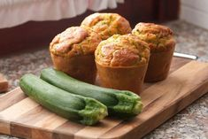 Zucchini & Egg Breakfast Muffins | Kayla Itsines | Bloglovin'