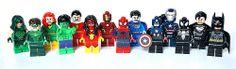 Lego SDCC Super Heroes