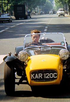 Number 6 with Lotus 7 Classic Tv, Classic Cars, Lotus 7, Lotus Elan, Arnold Bodybuilding, Cinema Video, Detective, Film Science Fiction, 60s Tv