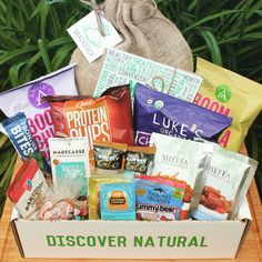 Let us introduce you to SnackSack! This monthly box has great a great variety of healthy snacks you will love! Sign up today, you don't miss out on next month!