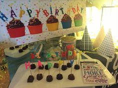 Happy Birthday Theme, Holiday Decor, Home Decor, Decoration Home, Happy Birthday Music, Room Decor, Interior Design, Home Interiors, Interior Decorating