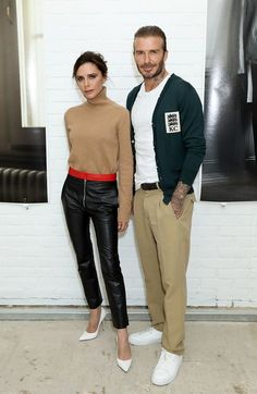 Victoria and David Beckham brought their A game to Fashion Week! Aren't they just amazing together!