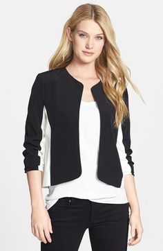 Vince Camuto Colorblock Jacket available at #Nordstrom