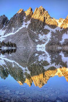Kearsarge Lakes Trail, Kings Canyon National Park, CA