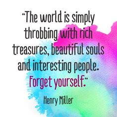 Henry Miller    Forget Yourself!