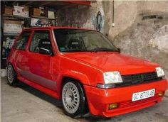Renault 5 GT Turbo Retro Cars, Vintage Cars, Megane Sport, Renault 5 Gt Turbo, Matra, Automobile, Nissan, Top Cars, Performance Cars