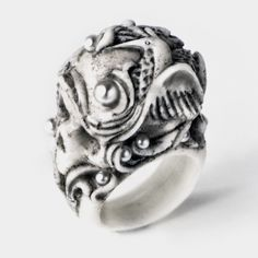 FERAL BY MACABRE GADGETS IMAGERY RING MACABREGADGETS.COM