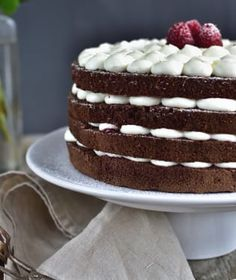 Naha, Vanilla Cake, Tiramisu, Cake Recipes, Ethnic Recipes, Cakes, Easy Cake Recipes, Cake Makers, Kuchen