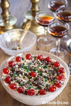 En himmelriks munnfull | Det søte liv Pudding Desserts, Cherry, Fruit, Food, Essen, Meals, Prunus, Yemek, Eten