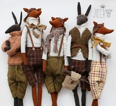Л Е С Handmade Stuffed Animals, Teddy Toys, Fabric Animals, Fabric Toys, Sewing Dolls, Cute Toys, Soft Dolls, Stuffed Animal Patterns, Felt Toys