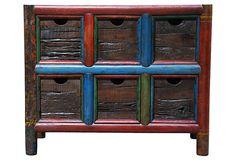 Reclaimed 6-Drawer Cabinet on OneKingsLane.com