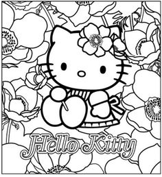 hello kitty coloring pages wallpapers for ipad   Hello Kitty Birthday Coloring Pages   newsletter templates ...