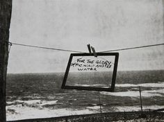 sometimesitmakesyou:  Robert Frank - For the Glory of Wind and Water, 1976.