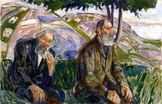 """Munch """"Due uomini anziani"""""""
