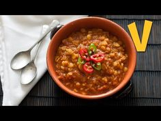 This recipe is for a spicy vegan tomato dal. In this episode we'll show you how to prepare this healthy and low-fat lentil dish, using very simple ingredient...