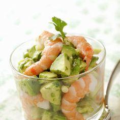 insalata gameri e avocado