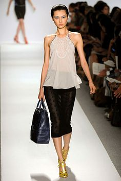 Simple and Fluid from Rebecca Taylor Spring 2012