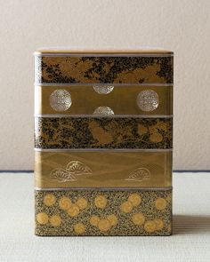 Maki-e lacquer multitiered box from Meiji era (1868~1912), Japan
