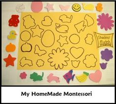 My HomeMade Montessori: Shadow Matching