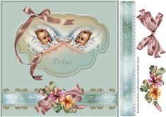 New Baby Twins - CraftsuPrint