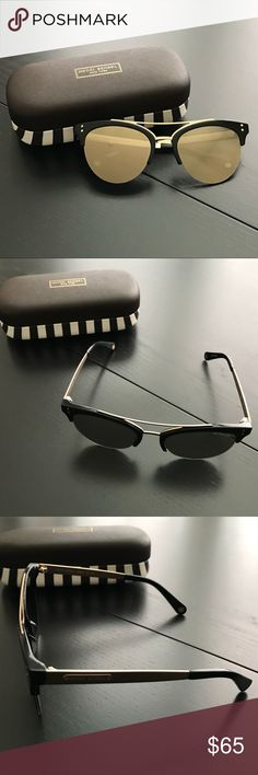 381b3f8576191 Henri Bendel Pia gold cat eye sunglasses with case Purchased these a couple  months ago for