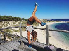 #handstand #rottnestisland #thisbeauty #beach #bluewater #whitesand #thebasin #thatview #dayoff #gymnastics #westernaustralia #perth #travel #ocean #paradise #australia by sarahschmuttermair http://ift.tt/1L5GqLp