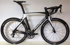Pinarello Gan S Ultegra/MOst White/Black - Cosmic Pro Carbon Exalith 2016 Road Bike
