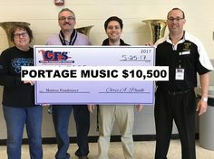 Portage Music Boosters raised $10,500 at their Mattress Fundraiser with CFS NW Indiana