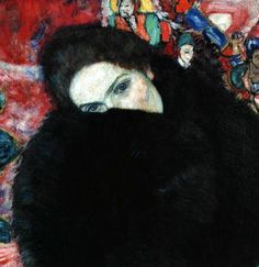 Lady with A Muff, 1916  Gustav Klimt