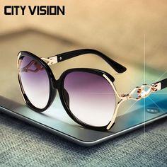 Encontrar Más Gafas de Sol Información acerca de 2016 nueva mariposa sunglasses moda gafas gafas de partido de lujo punto sol de gran tamaño gafas de mujer gafas marca shades exterior, alta calidad gafas de sol gafas de más de, China gafas de la nariz Proveedores, barato gafas de sol tienda de CITY-VISION en Aliexpress.com