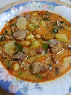 Hungarian Cuisine, Hungarian Recipes, Hungarian Food, Soup Recipes, Cooking Recipes, Health Dinner, Veggie Soup, Food 52, International Recipes