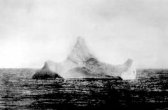 Can't research 1912 and ignore the Titanic. This is the iceberg