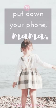 Put down your phone, mama. Be present. Enjoy your kids. Break the social media habit. 5 reasons why you need to do a digital detox with 47 actionable tips to do it today. #momlife #blog