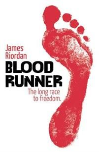 Blood runner / James Riordan : Samuel's parents and sister die in a bloody massacre. His brothers retaliate by joining the anti-aparthied movement, with guns and terrorism as thier weapons. But Sam decides to fight prejudice in his own way - as a runner.