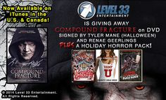Happy Horrordays everybody! Tis the season to be hairy. Now that we're officially in month of Dismember, we have a very special holiday horror giveaway for