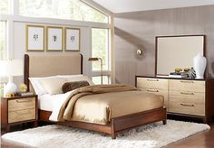 shop for a sofia vergara cimmaron champagne brown 5 pc queen panel bedroom at rooms to go find queen bedroom sets that will look great in your home and
