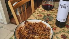 Beef Hor Fun and South African Red D Minor, Fortune Cookie, Jerusalem, Orchestra, Noodles, African, Beef, Wine, Music
