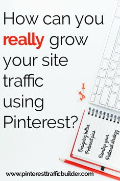 How do you grow your blog traffic with Pinterest? Get the details about this interactive Pinterest training program to teach you everything you need to know to help you grow your blog traffic and build your email list with Pinterest. Learn Pinterest tips and tricks to get the most from your Pinterest marketing strategies! #growyourblog #blogtraffictips #pinterestmarketing #pinteresttips #pintereststrategy