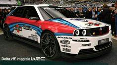 Lancia Intergrale WRC Concept Lancia Delta, Rally Car, Car Car, My Dream Car, Dream Cars, Saab Automobile, Martini Racing, Retro Cars, Rc Cars